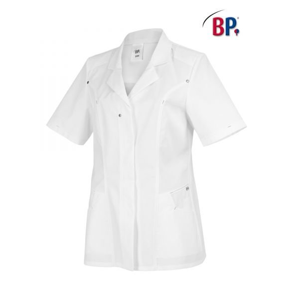 BP® Med-Fashion Damen-Kasack mit Kontrastfarbe 1/2 Arm